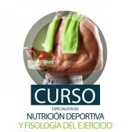 CURSO DE ESPECIALISTA EN NUTRICIÓN DEPORTIVA Y FISIOLOGÍA DEL EJERCICIO